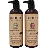 PURA D'OR Professional Grade Anti-Hair Thinning 2X Concentrated Actives Shampoo & Conditioner, Sulfate Free Natural Ingredients, Clinically Tested, All Hair Types, Men & Women (Packaging may vary) (Color: Combo (Shampoo & Conditioner))