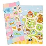 Baby Care Play Mat - Playful Collection (Medium, Busy Farm) (Color: Busy Farm, Tamaño: Medium)