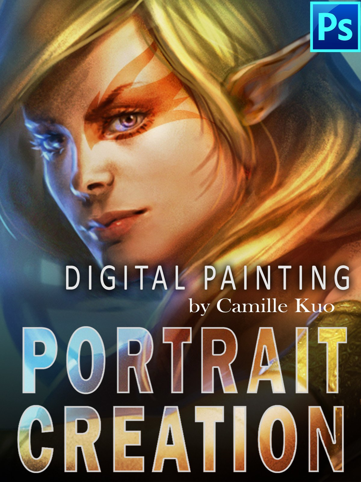Digital Painting by Camille Kuo: Portrait Creation on Amazon Prime Video UK