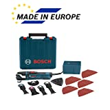Bosch Power Tools Oscillating Saw - GOP40-30C - StarlockPlus 4.0 Amp Oscillating MultiTool Kit Oscillating Tool Kit Has No-touch Blade-Change System (Tamaño: 32 Accessories and Case)