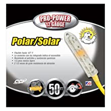 Coleman Cable 4428 Polar/Solar Plus Quadnector 12/3 SJEOW 50-Foot Four-Way Power Blocks