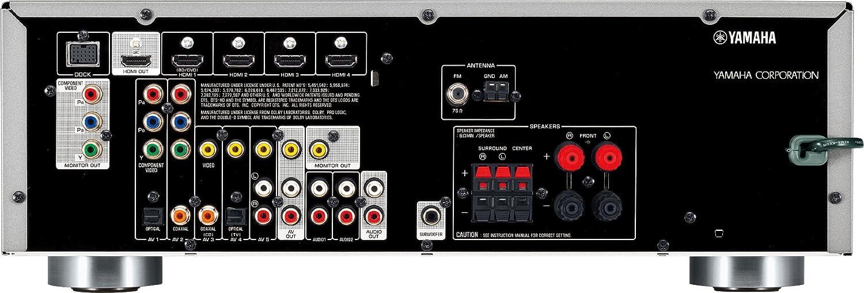 Yamaha RX-V371 Bl 5.1 AV-Receiver (HDMI,
