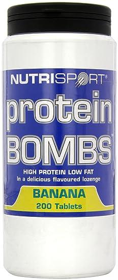 Nutrisport Protein-Bomben Banana 200s