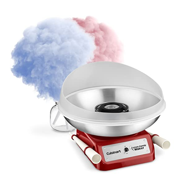 Cuisinart CCM-10 Cotton Candy Maker, Red (Color: Red, Tamaño: One Size)