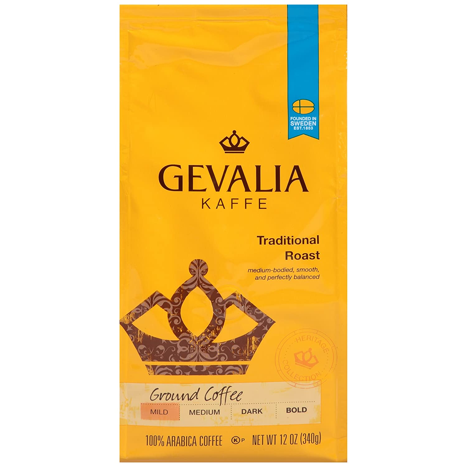 Gevalia Traditional Blend Coffee, Ground