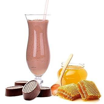 Praline Honig Geschmack Proteinpulver Vegan mit 90% reinem Protein Eiweiß L-Carnitin angereichert fur Proteinshakes Eiweißshakes Aspartamfrei (10 kg)