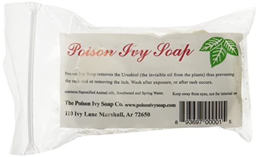 Poison Ivy Soap - Removes the Urushiol (The Invisible Oil from Plants)