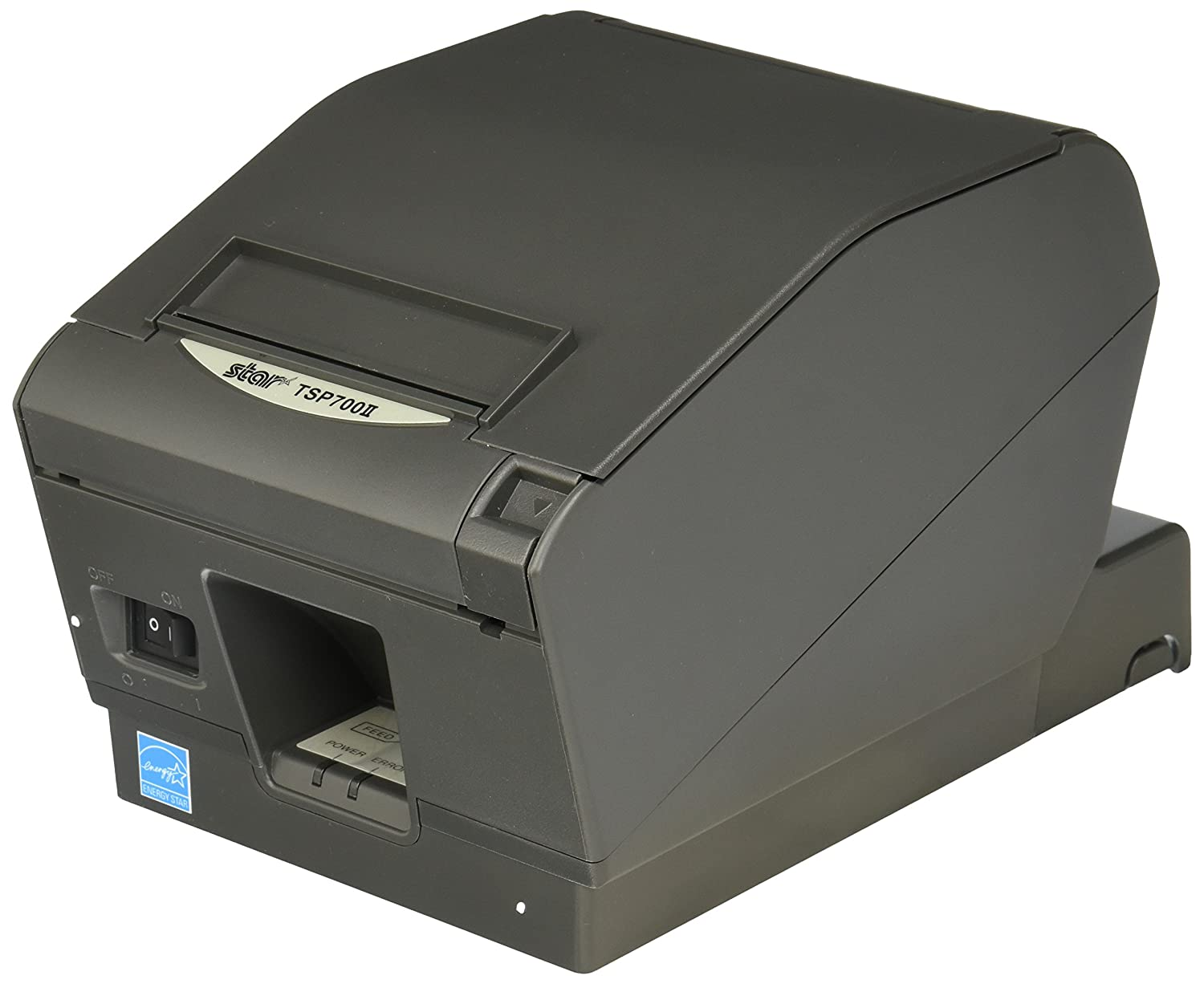 Ultra High Speed receipt printer  with external power supply,  auto cutter, and swappable USB, Ethernet or Bluetooth interface.