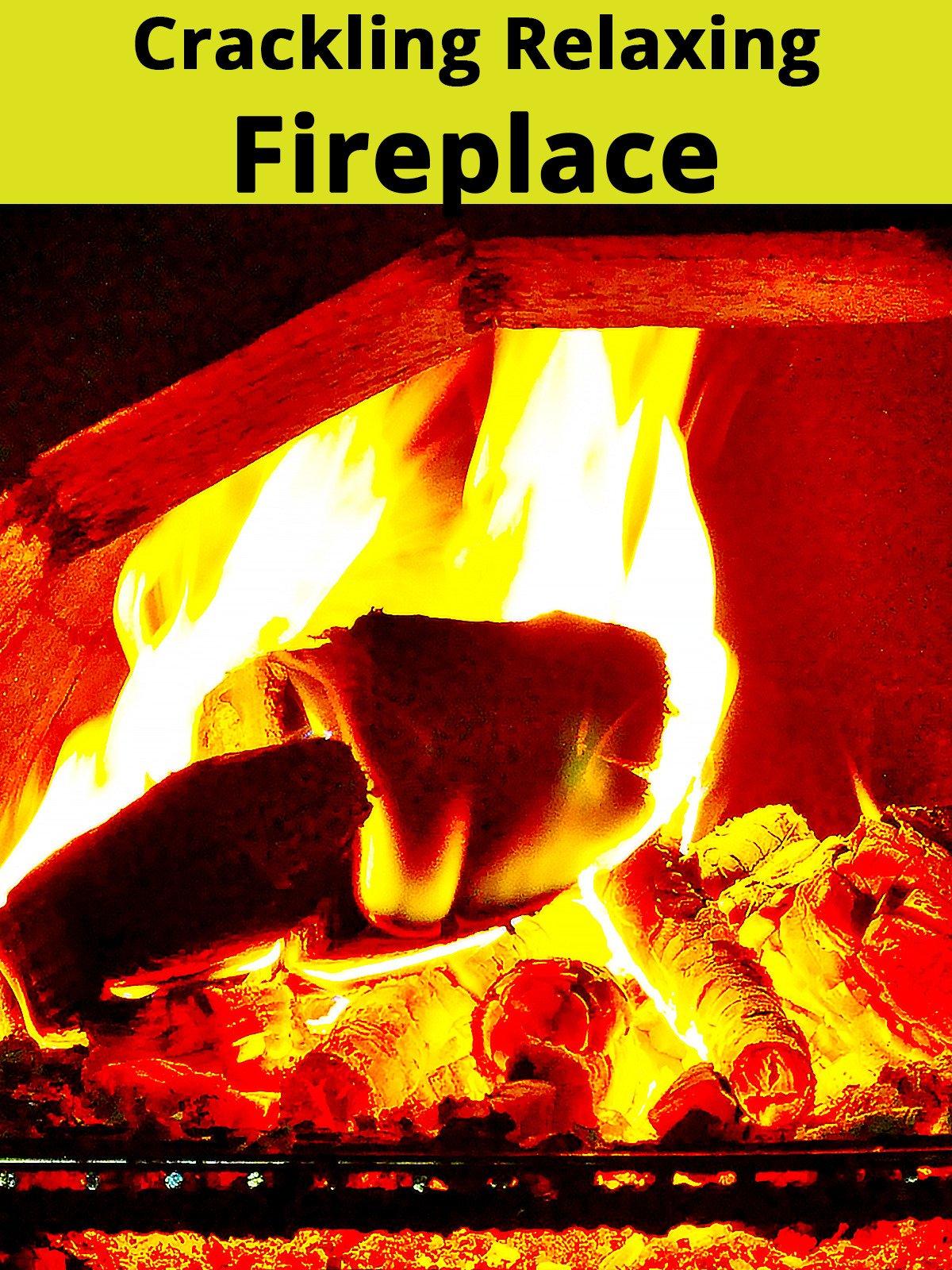 Crackling Relaxing Fireplace