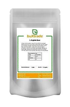 2 kg L-Arginin Base Pulver 100% rein L Arginin Aminosäure Fitness