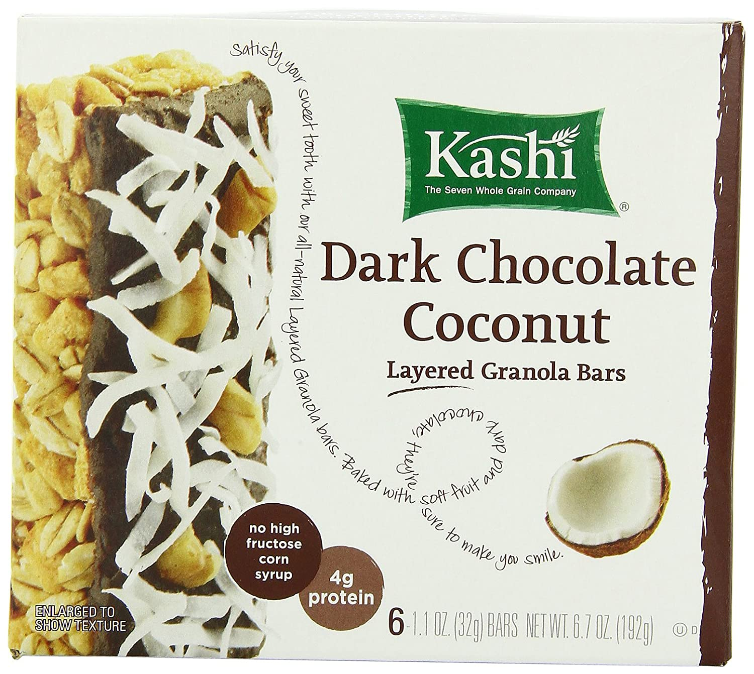 Amazon - 36ct Kashi TLC Fruit & Grain Layered Granola Bars - $12.92