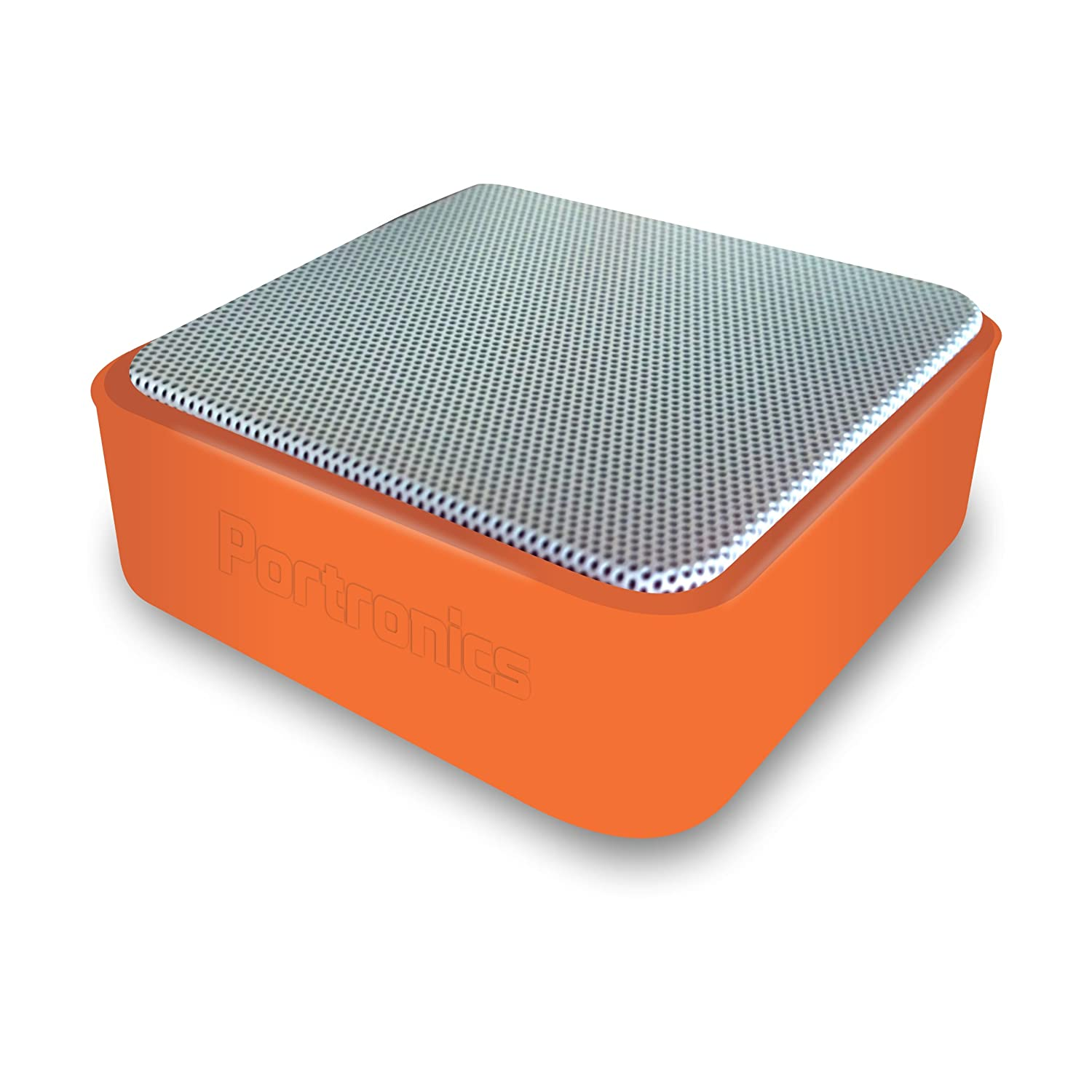 Get Portronics Speaker At Rs 629 Cubix Portable Wired Orange