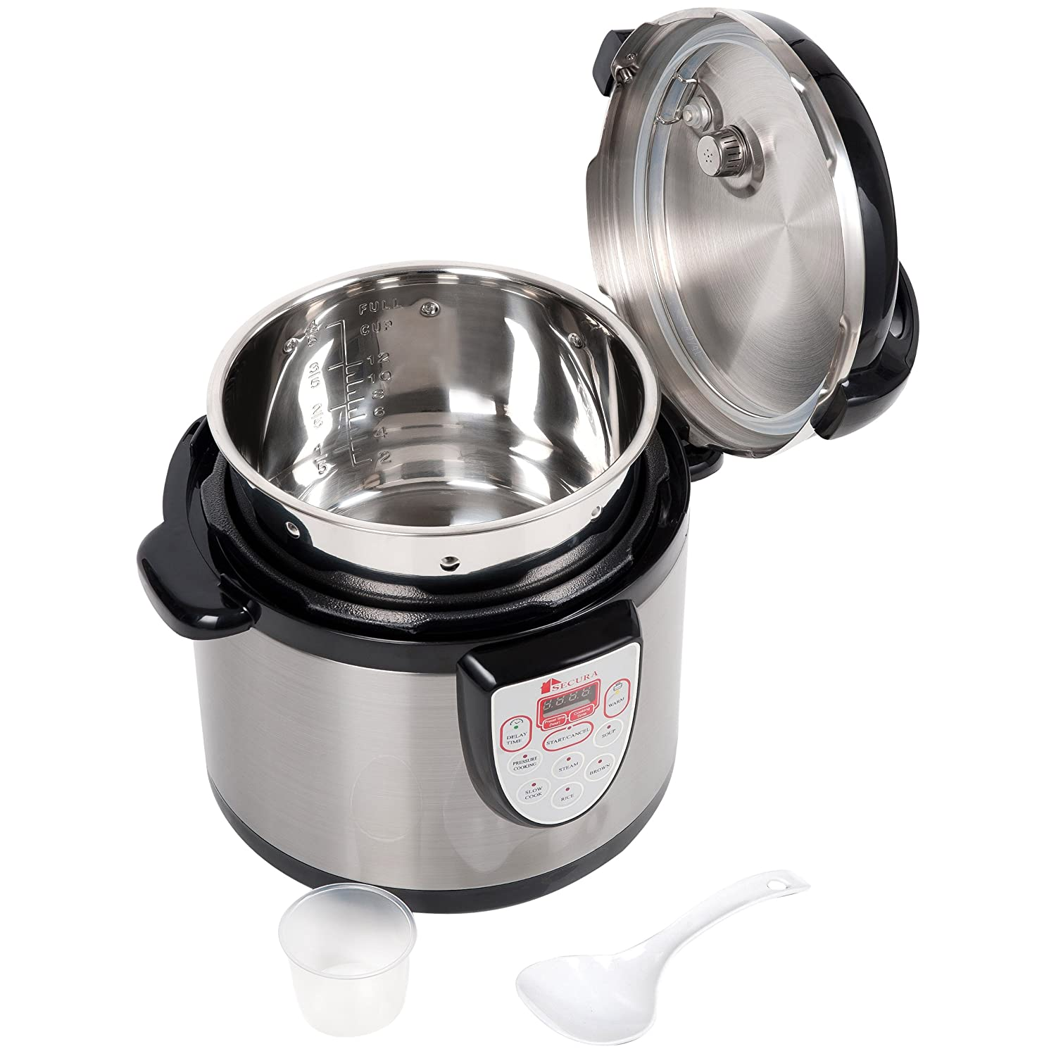 Secura Stainless Steel Cooking Pot