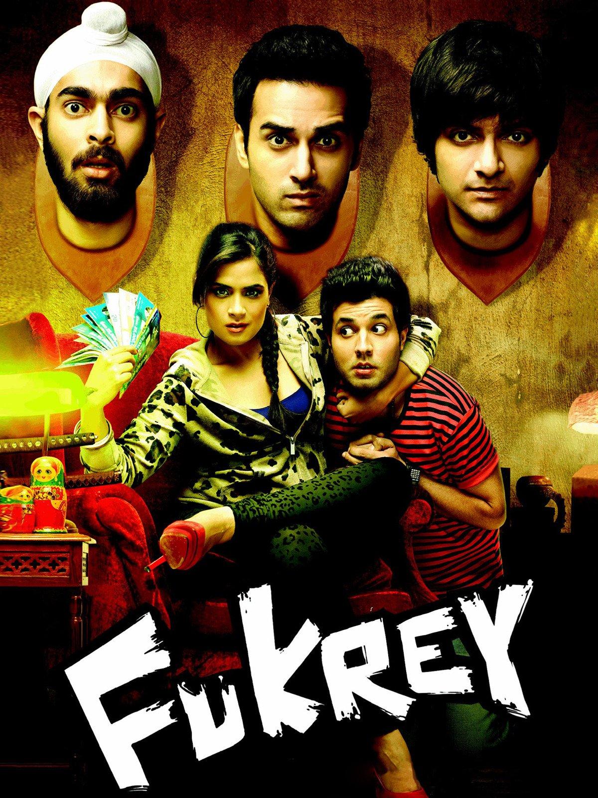 Fukrey on Amazon Prime Video UK