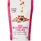 Wickedly Prime Organic Sprouted Trail Mix, Spiced Mulberry Apple, 8 Ounce