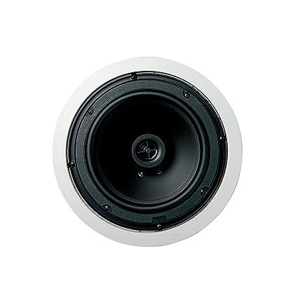 Jamo 8.5CS-T Paire de haut-parleurs bidirectionnels pour le plafond 21,6 cm 8 ohm/70/100 V