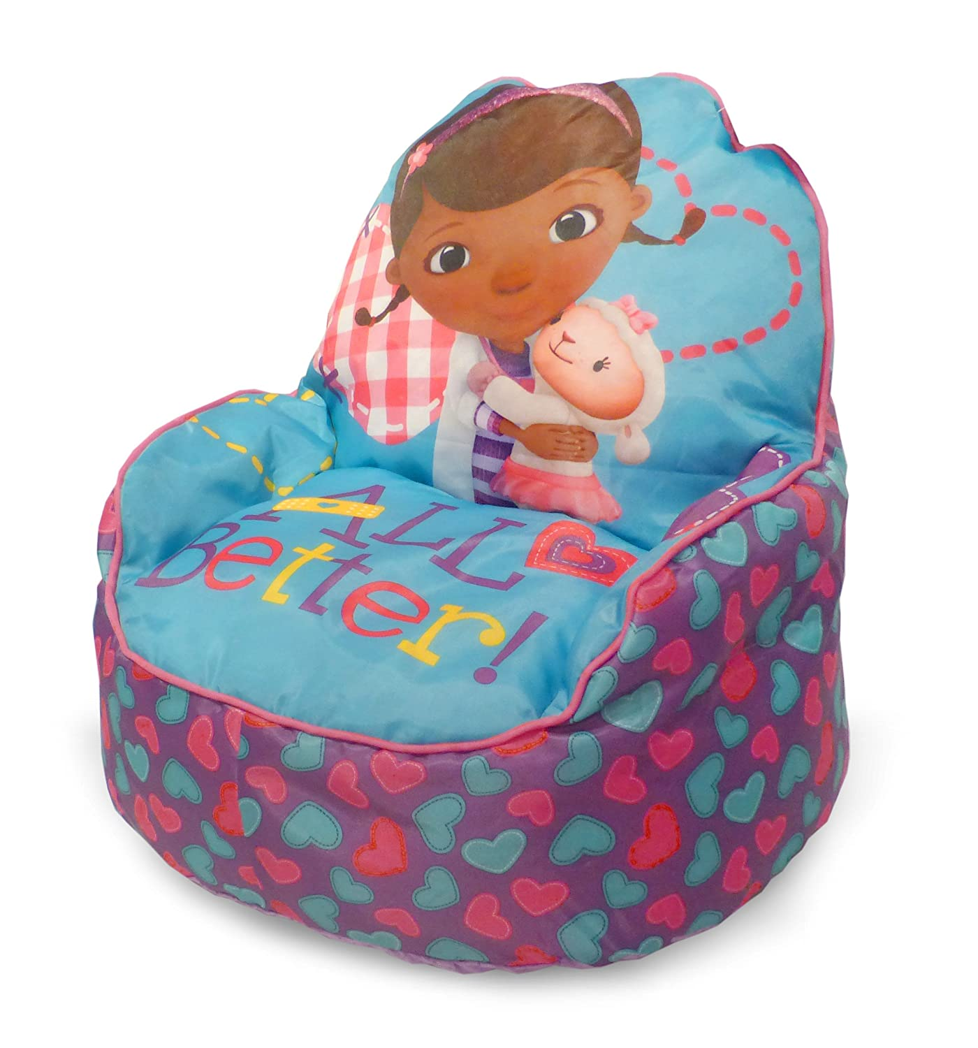Disney Doc McStuffins Toddler Bean Bag Sofa Chair