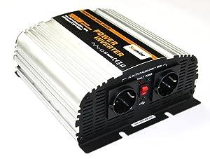 Spannungswandler MS 24V 1000/2000 Watt Inverter Wechselrichter  BeleuchtungÜberprüfung und weitere Informationen
