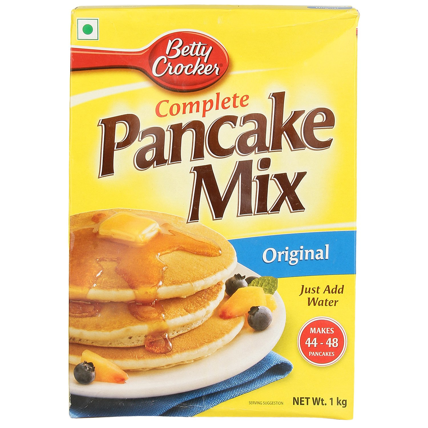 Amazon : Betty Crocker Complete Pancake Mix, 1KG @ Rs.175/-