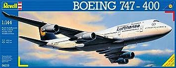 Revell - Maquette - Boeing 747-400 'Lufthansa'  - Echelle 1:144