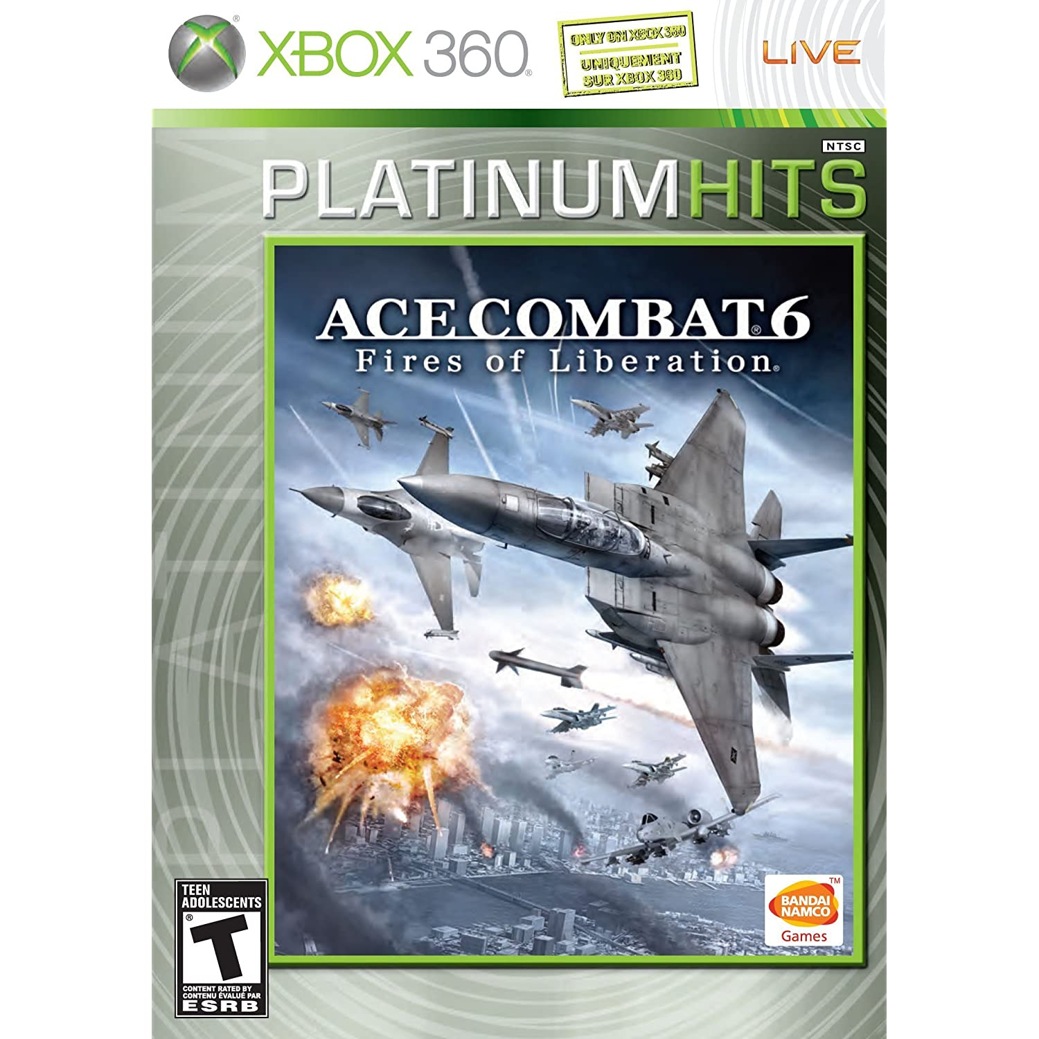 Online Game, Online Games, Video Game, Video Games, xbox 360, flight simulator, flying, ace combat, flight sim, military, simulator, Ace Combat 6: Fires of Liberation
