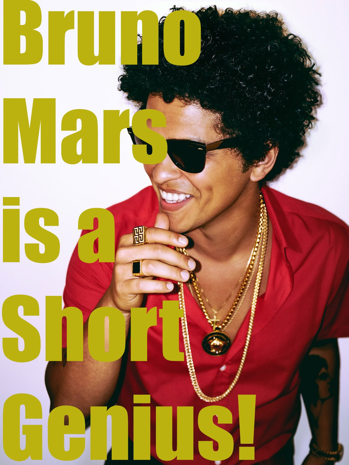 Bruno Mars is a Short Genius