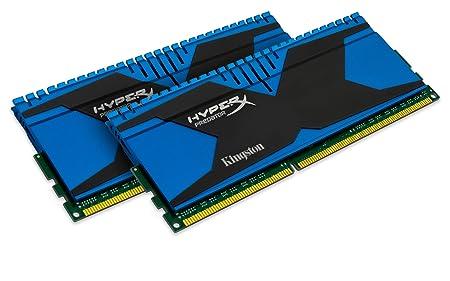 HyperX Predator Mémoire RAM 8 Go 1866 MHZ DDR3 Non-ECC CL10 DIMM Kit (2X4Go) XMP KHX18C10T2K2/8