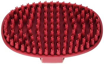 rubber grooming brush for labs