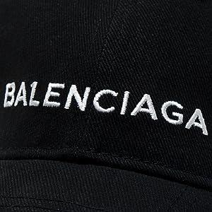 BALENCIAGA クラシック ベースボールキャップ コットン100% ショップバッグ付き