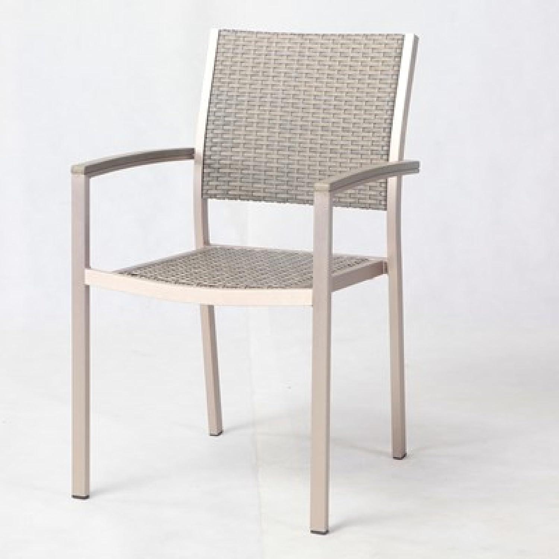 Hartman Ragusa Bistro-Stuhl Polyrattan taupe online bestellen