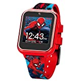 Marvel Boys' Touch-Screen Watch with Silicone Strap, red, 19.5 (Model: SPD4588AZ) (Color: Red)