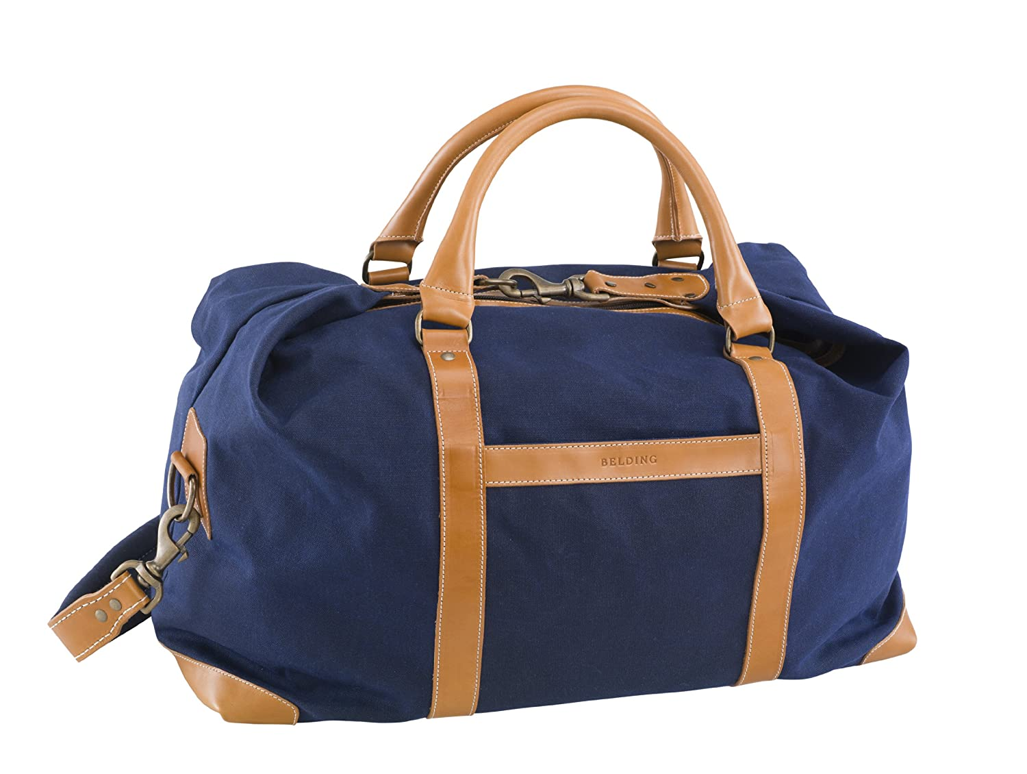 BELDING American Collection Satchel Duffle Bag, Navy bbox200 1 200 american frontier airlines boeing 737 200 aircraft model n1pc alloy collection model