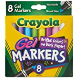 Crayola 8 Count Gel FX Washable Markers - 2 Packs (Color: 2 Packs, Tamaño: 2 Sets)