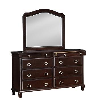 Glory Furniture G9000-D Bedroom Dresser, Cappuccino