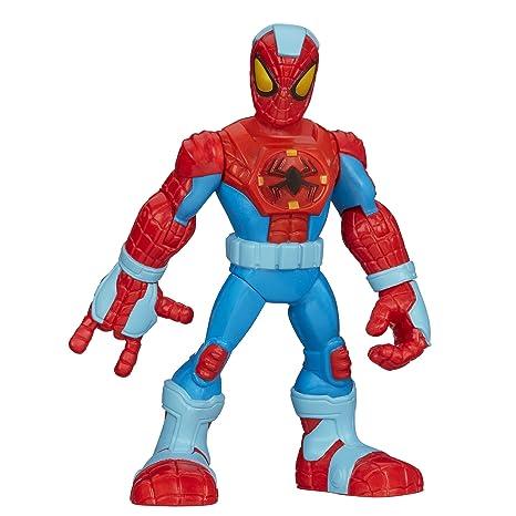 Playskool Heroes - Marvel Spider-Man Adventures - Spider-Man en armure - Figurine 12,5 cm