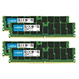 Crucial Bundle with 128GB (4 x 32GB) DDR4 PC4-21300 2666MHz RDIMM (4 x CT32G4RFD4266), Dual Ranked Registered ECC Memory (Tamaño: 32 Gb)
