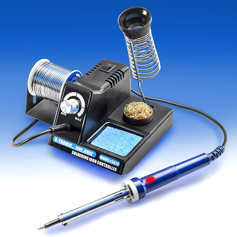 Iron 70 Watt Analog Temperature Control Brass Sponge Electric Tool Pen #0B51B5