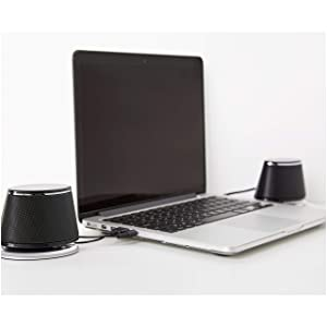 AmazonBasics USB-Powered PC Computer Speakers with Dynamic Sound | Black (Color: Black)