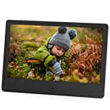 Micca NEO 7-Inch Digital Photo Frame with High Resolution Widescreen LCD, MP3 Music and 720P HD Video Playback, Auto On/Off Timer, Ultra Slim Design (M709A) (Color: Black, Tamaño: 7-Inch Widescreen)