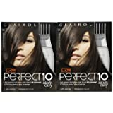 Clairol Perfect 10 by Nice 'n Easy Hair Color, 005A, Medium Ash Brown, 2 pk