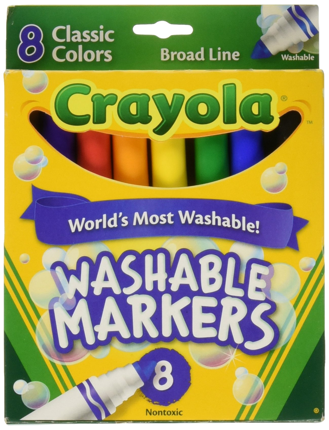 Washable Broad Line Crayola Markers