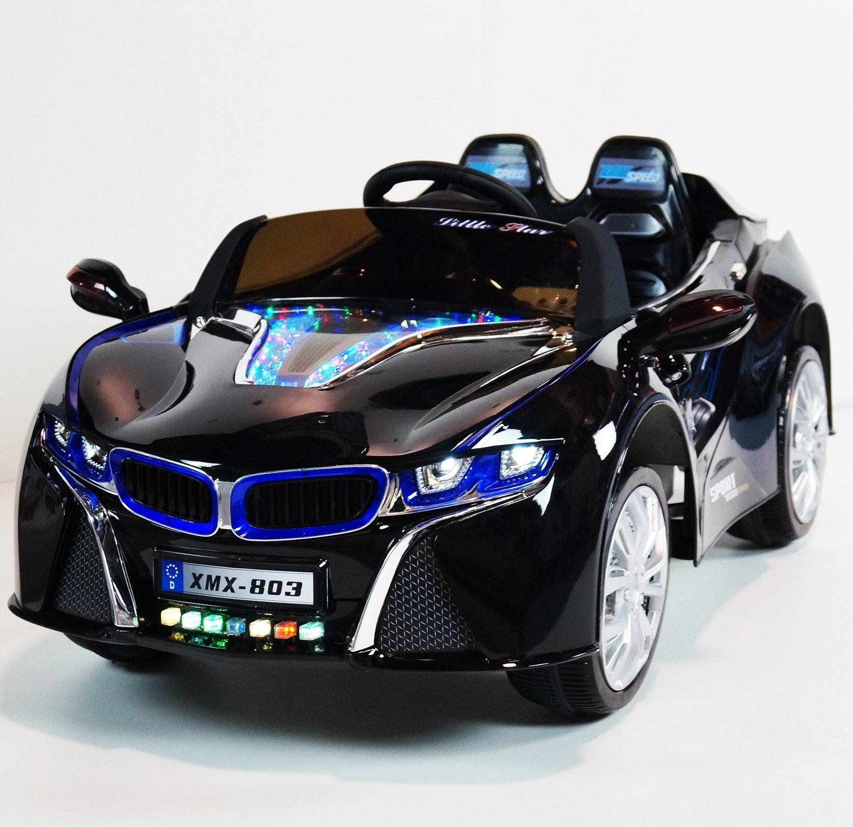 Bmw I8 12v Electric Ride On With Remote Control: BMW I8 Style Ride On Toy Car For Kids With Remote Control