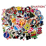 Stickers,[100pcs],Sticker,Pack,[SNation] Stickers Laptop Stickers skateboard stickers #Stickers #Laptop Stickers #BMX Stickers (Color: Mixed)