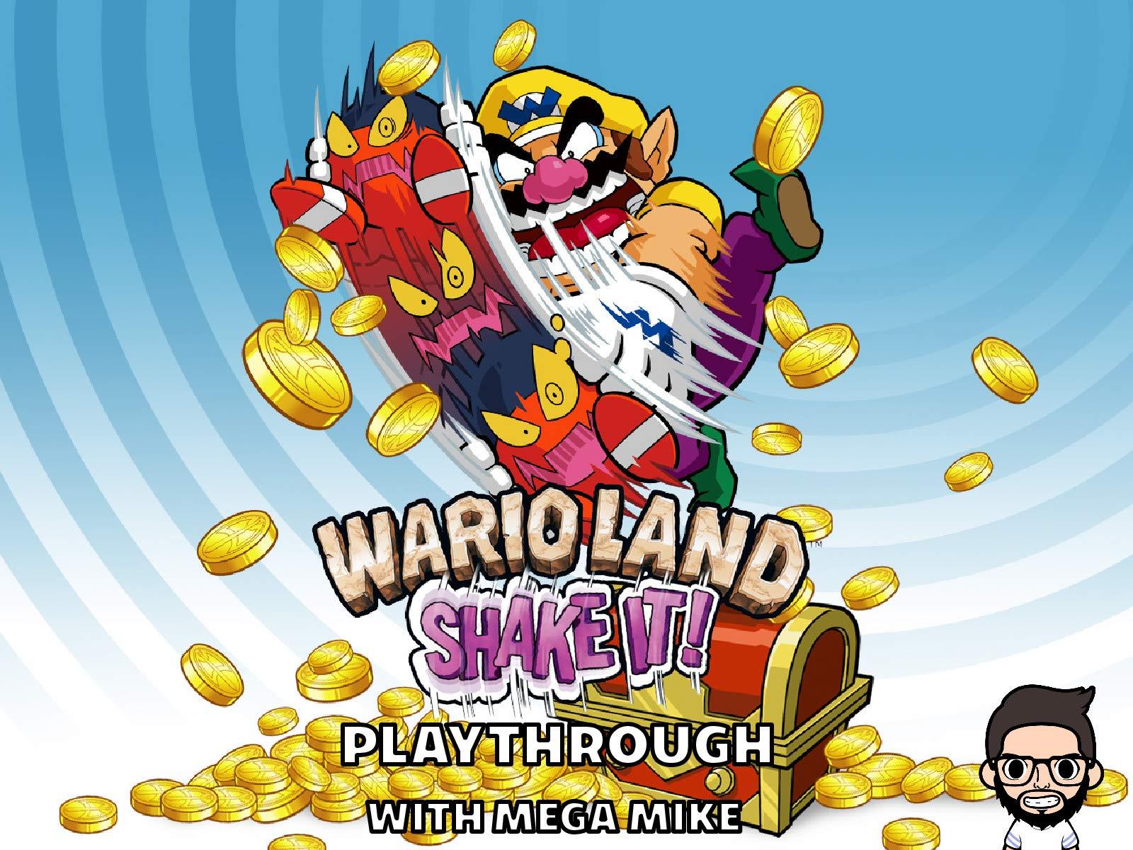 Wario Land Shake It Playthrough With Mega Mike - Season 1