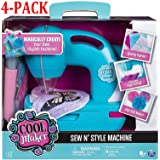 Cool Maker - Sew N' Style Sewing Machine with Pom-Pom Maker Attachment (Edition May Vary) (Sewing Machine (4-Pack))
