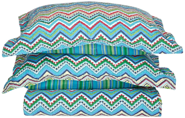 Zig-Zag Cotton Quilt Set