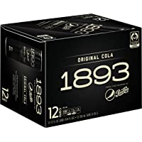 12-Pack Pepsi Cola 1893 Original Cola Certified Fair Trade Sugar