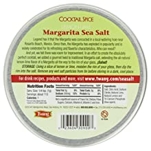 Twang Margarita Salt, Lemon-Lime, 4-Ounce Tins (Pack of 3)
