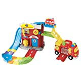 VTech Go! Go! Smart Wheels Fire Command Rescue Center Playset (Color: one color, Tamaño: one size)