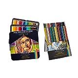 Prismacolor Premier Soft Core Colored Pencils, Set of 48 Assorted Colors (3598T) + Prismacolor Verithin Colored Pencils, Set of 36 Assorted Colors (2428)